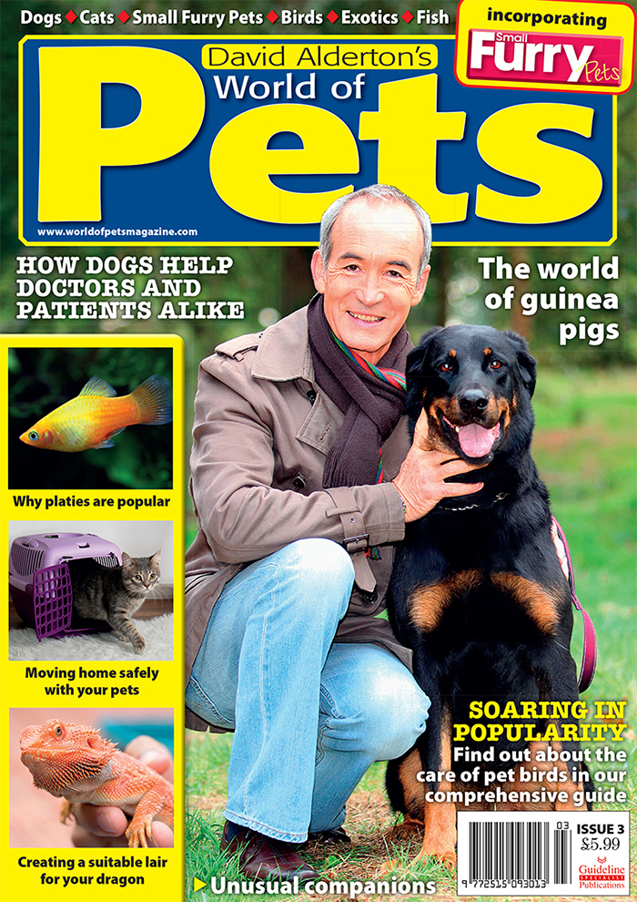 Guideline Publications World of Pets  Issue 3 edited by David Alderton