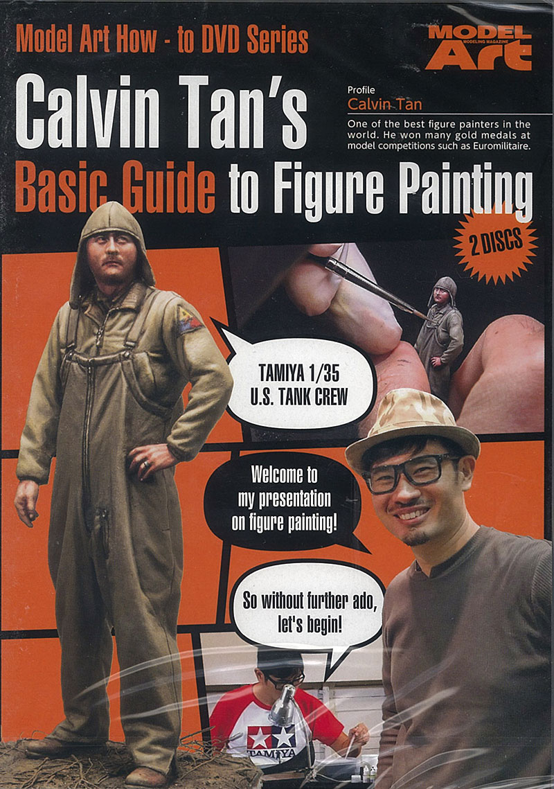 Guideline Publications Calvin Tans's Basic Guide to Figure Painting 2 Disc DVD