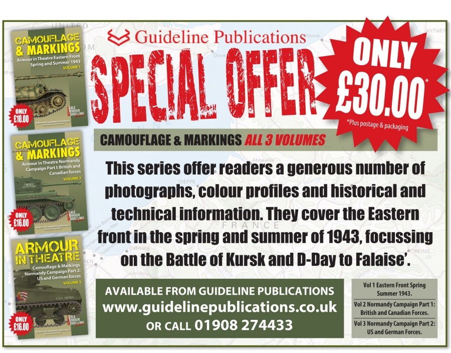 Guideline Publications Camouflage & Markings ALL 3 VOLUMES Special Offer