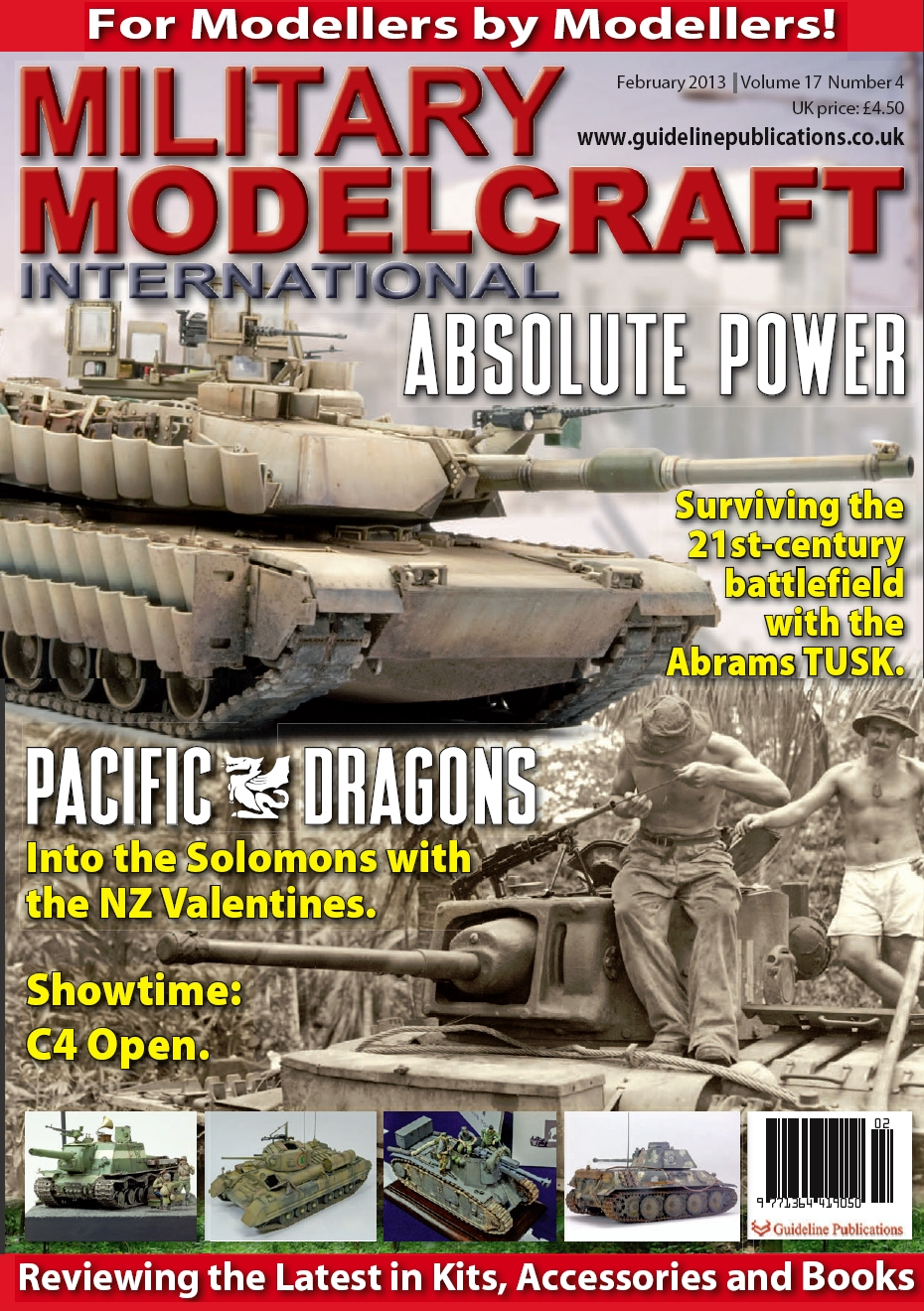 Guideline Publications Military Modelcraft February 2013 vol 17 - 4