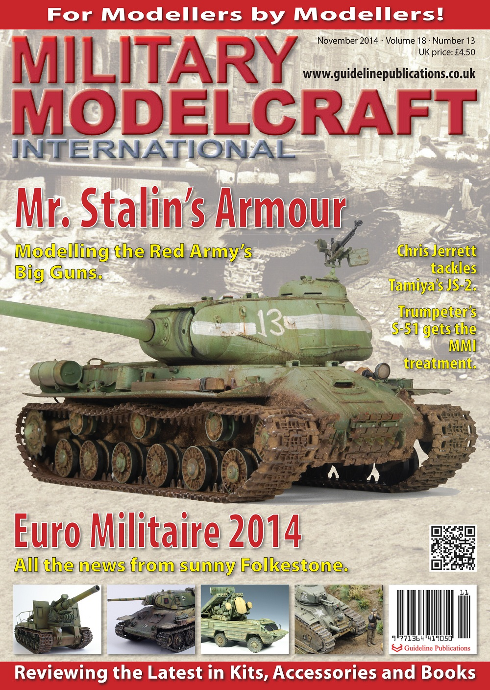 Guideline Publications Military Modelcraft November 2014 vol 18 - 13