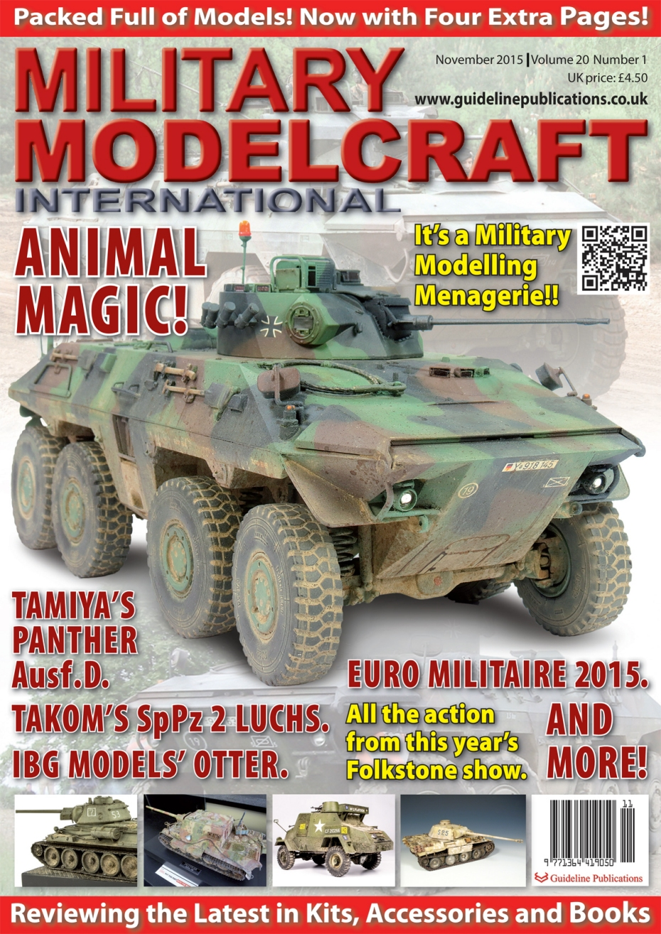 Guideline Publications Military Modelcraft November 2015 vol 20-01
