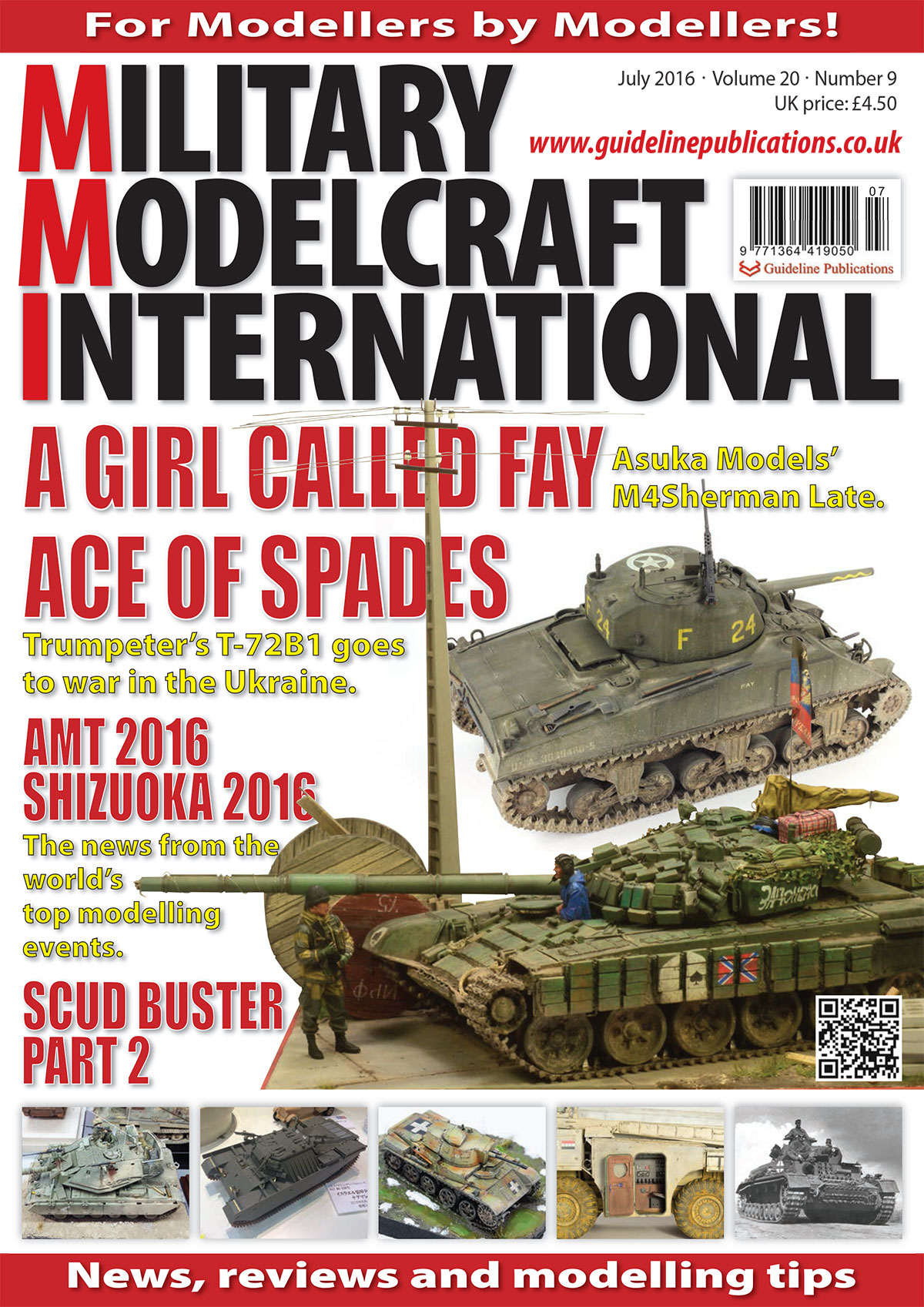 Guideline Publications Military Modelcraft July 2016 vol 20-09