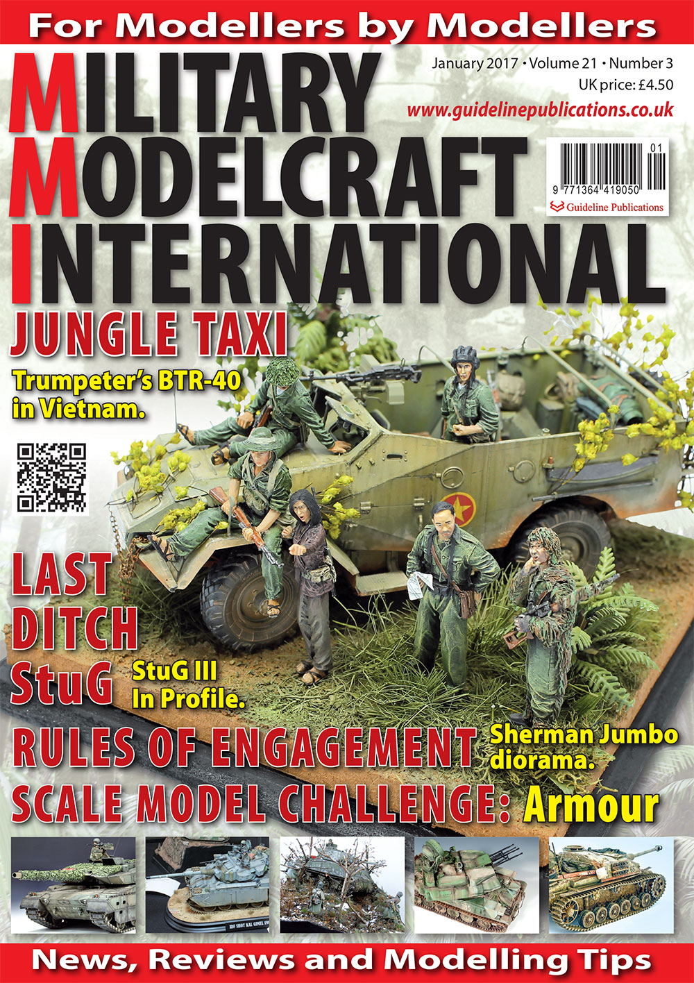 Guideline Publications Military Modelcraft January 2017 vol 21.03