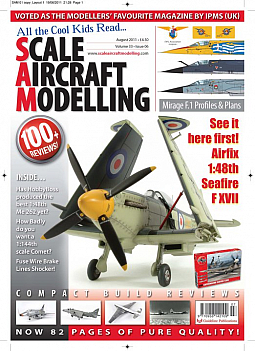 Guideline Publications SAM: Vol 33 - No 6 - Airfix 1/48th Seafire F.XVII
