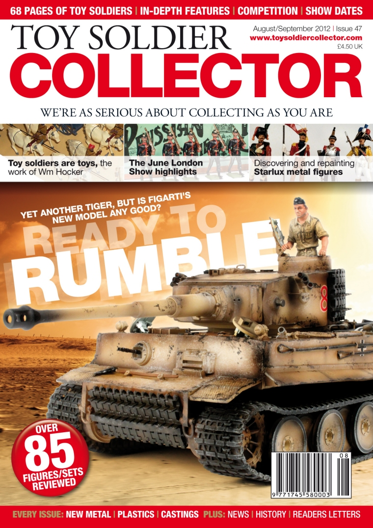 Guideline Publications Toy Soldier Collector #47 August/September 2012