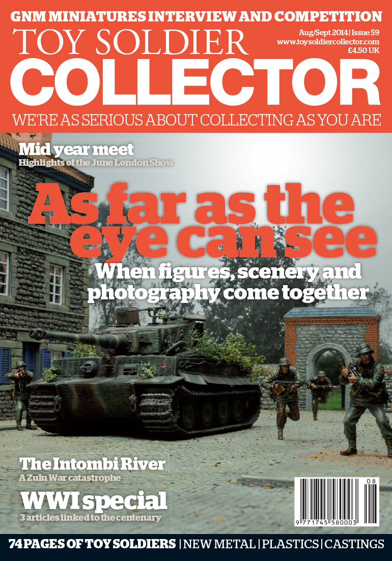 Guideline Publications Toy Soldier Collector #59 August 2014 / September 2014