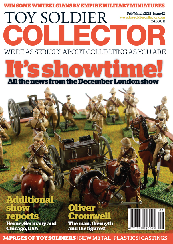 Guideline Publications Toy Soldier Collector #62 February 2015 / March 2015