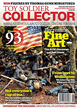 Guideline Publications Toy Soldier Collector #64 June 2015 / July 2015