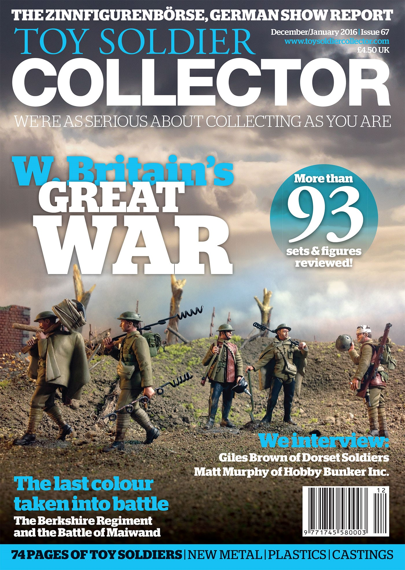 Guideline Publications Toy Soldier Collector #67 December 2015 / January 2016