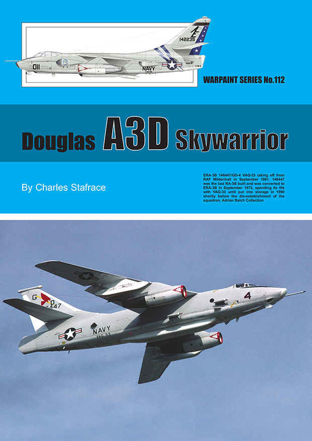 Guideline Publications No.112 Douglas A3D skywarrior No.112  in the Warpaint series