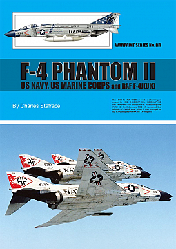Guideline Publications no 114 F-4 Phantom 11 US navy- US marine corps and RAF F-4J9UK)