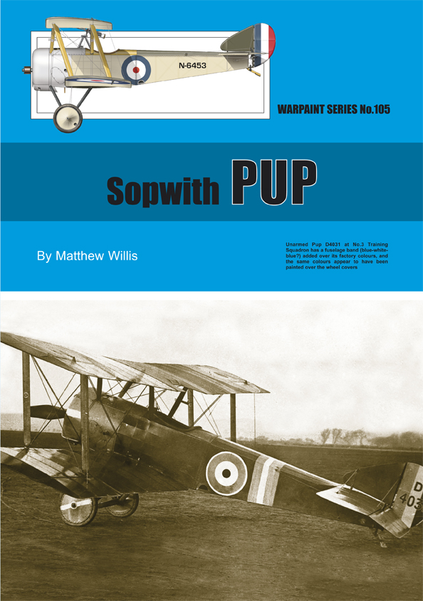 Guideline Publications No.105 Sopwith Pup No.105  in the Warpaint series
