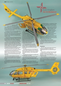 Guideline Publications S P E C I A L   O F F E R - Revell 1:32 Police Surveillance Helicopter  East Anglian Air Ambulance
