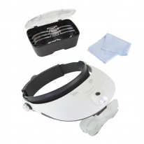 Guideline Publications Lightcraft Pro LED Headband Magnifier Kit