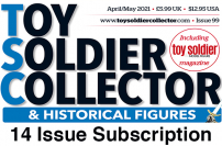 Guideline Publications Toy Soldier Collector - 14 Issues Subscription