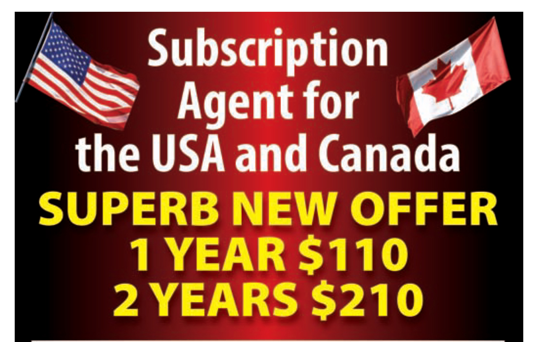 Guideline Publications Scale Aircraft Modelling - USA & Canada 1 Year New Superb Offer for our USA & Canadian Subscribers