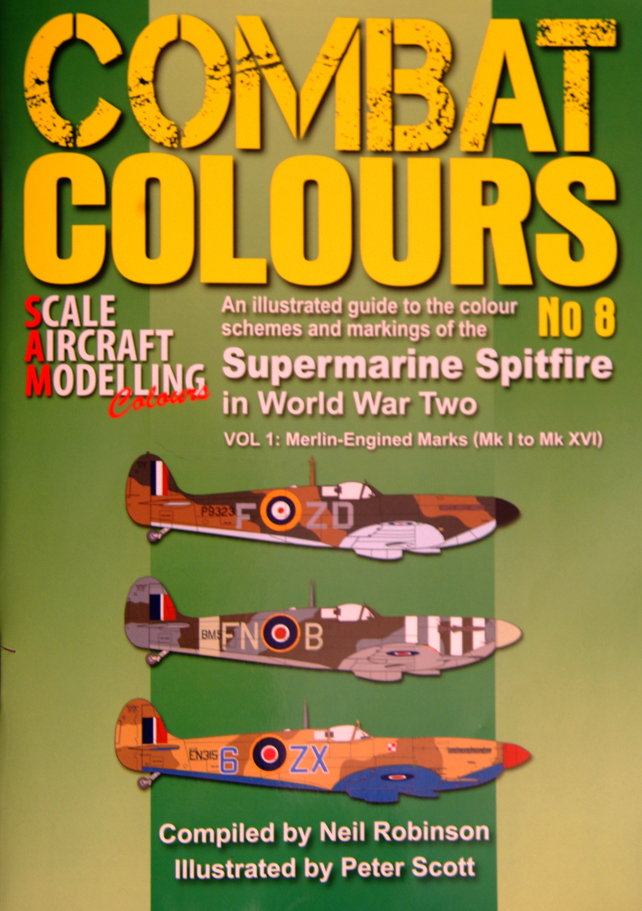 Guideline Publications Combat Colours No 8 Neil Robinson - Peter Scott