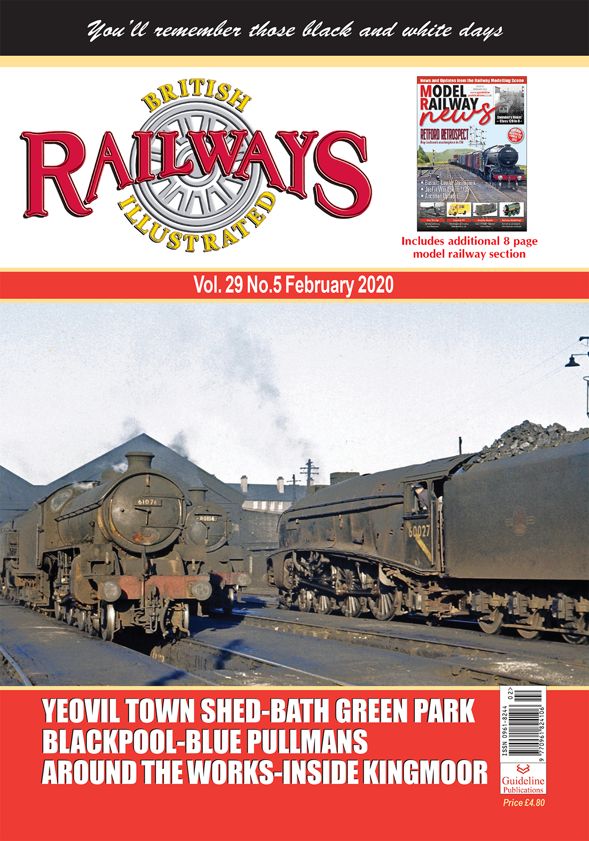 Guideline Publications British Railways Illustrated  vol 29 - 05 February 2020