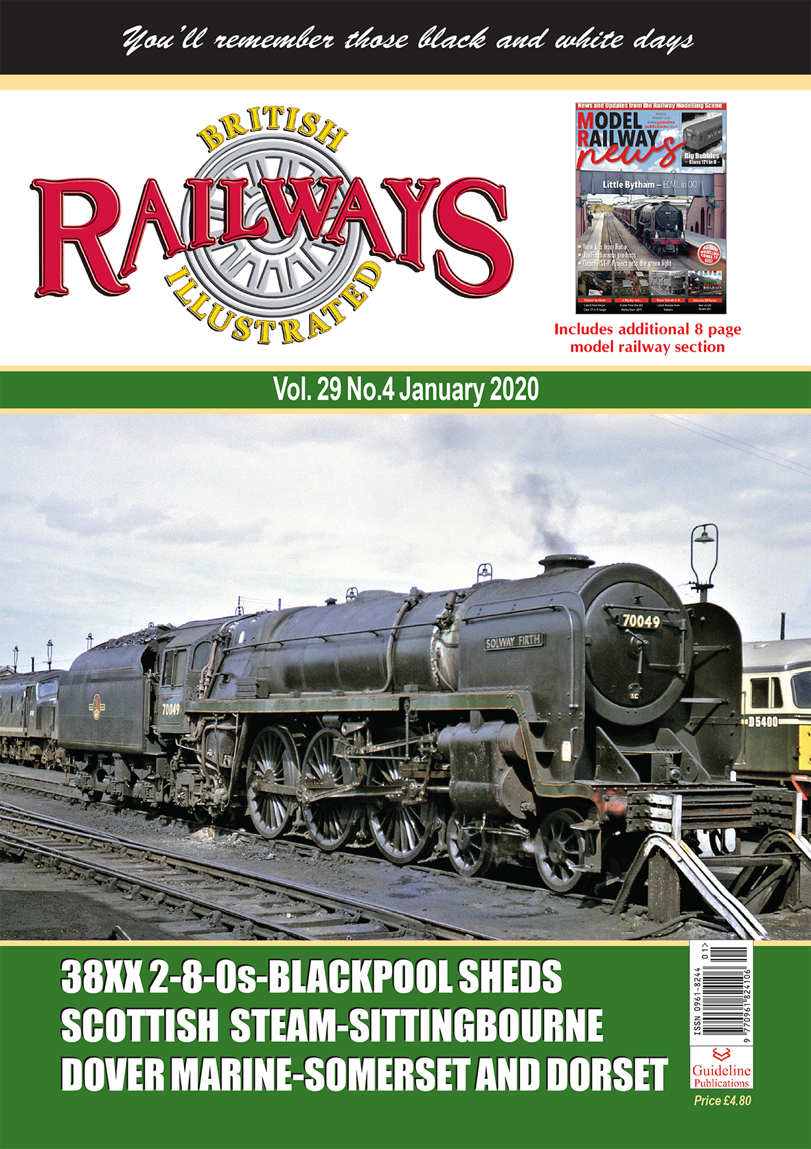 Guideline Publications British Railways Illustrated  vol 29 - 04 January 2020