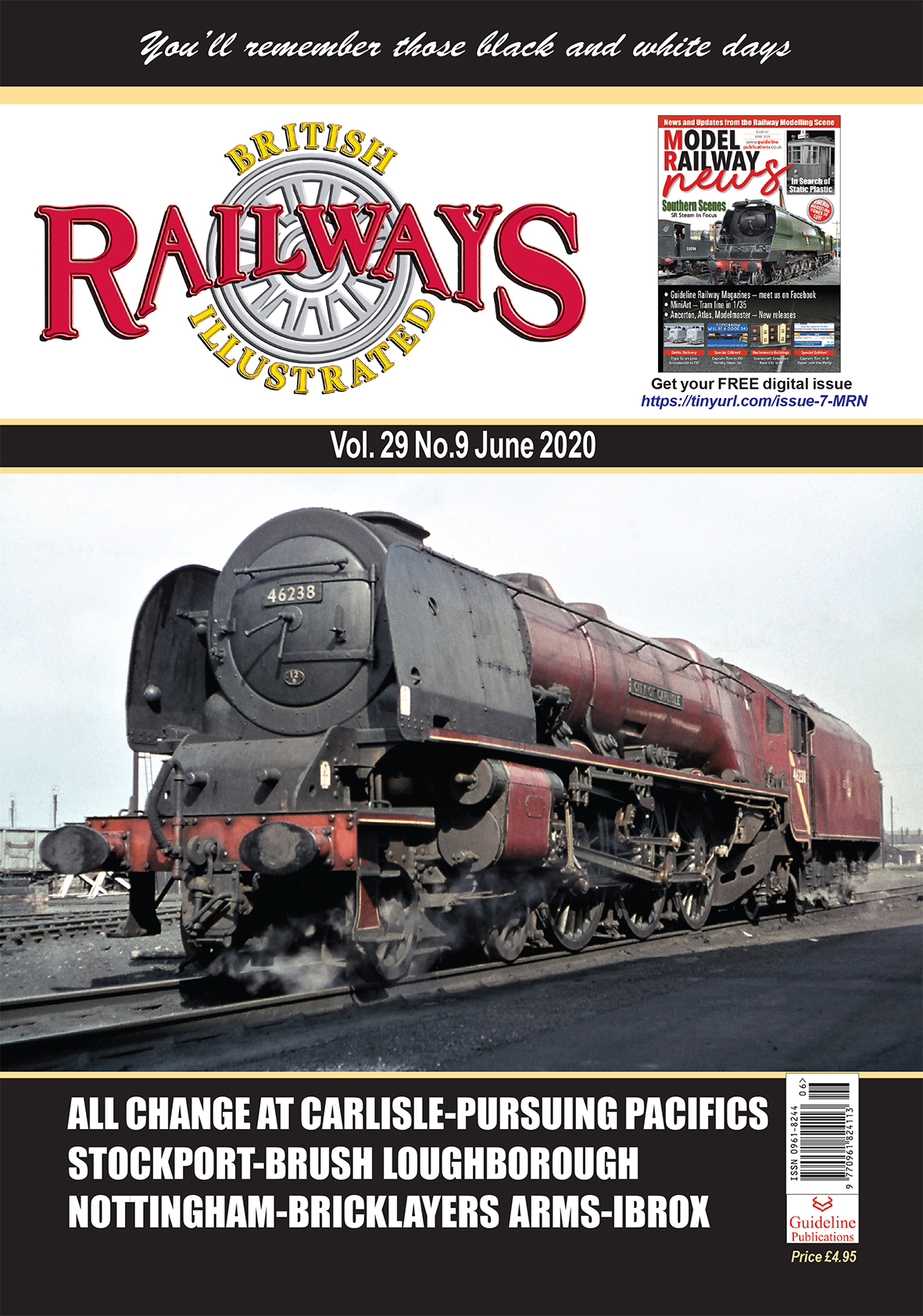 Guideline Publications British Railways Illustrated  vol 29 - 09 June 2020
