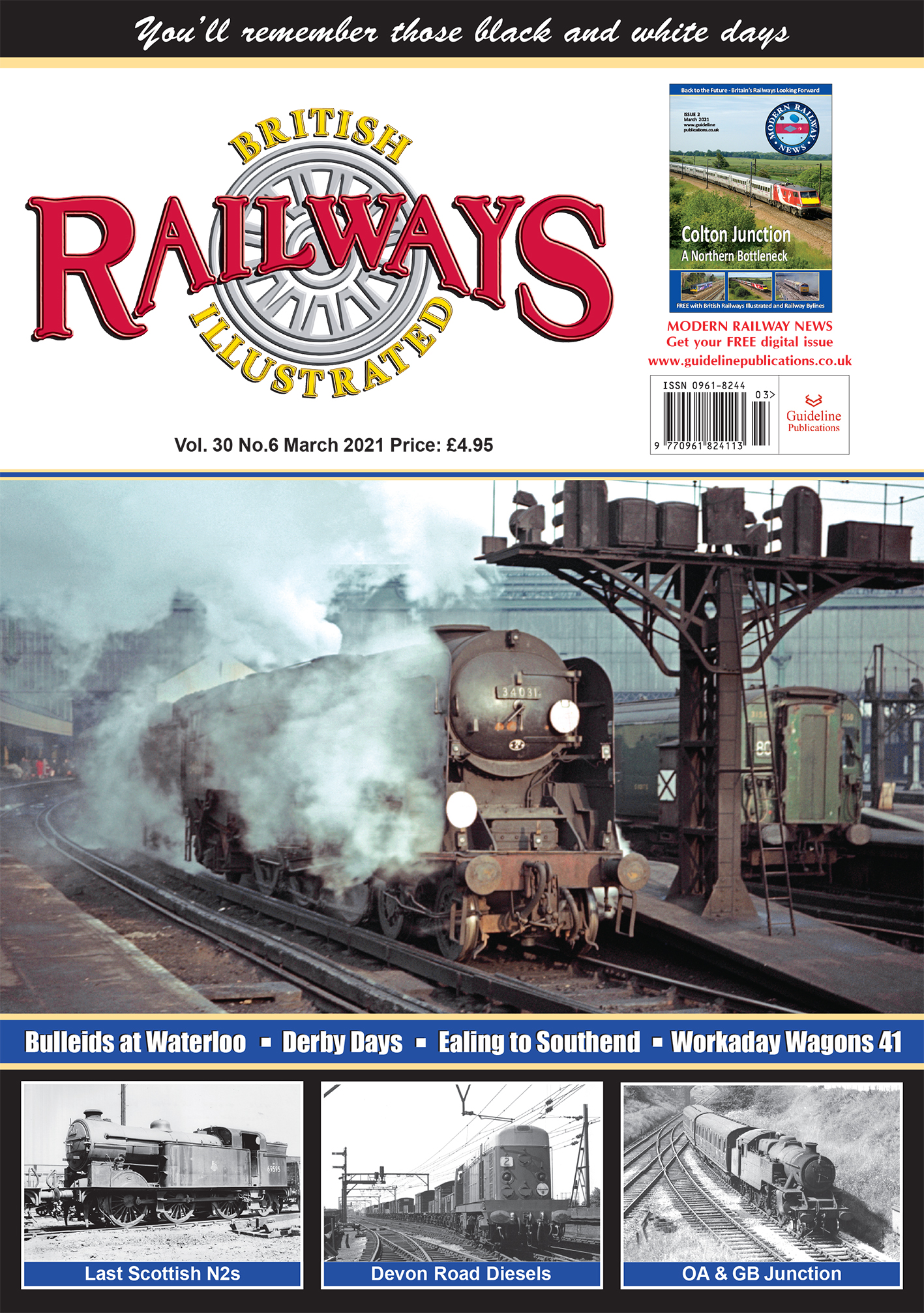 Guideline Publications British Railways Illustrated  vol 30-06 March 21 2021