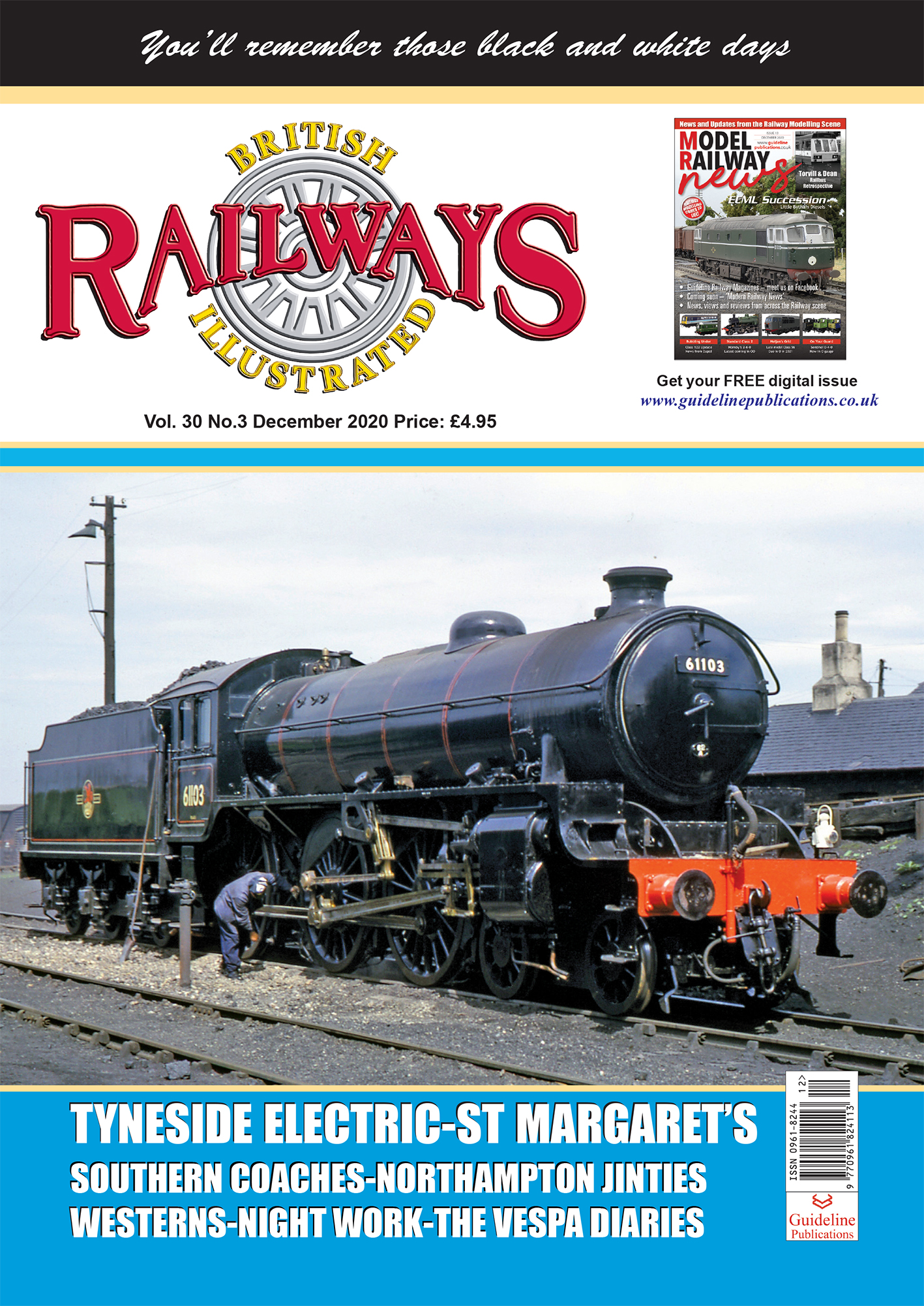 Guideline Publications British Railways Illustrated  vol 30-03 December 2020
