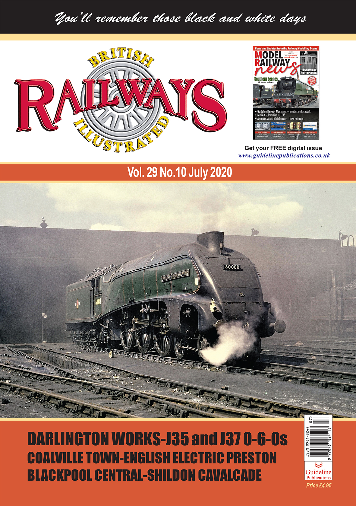 Guideline Publications British Railways Illustrated  vol 29 - 10 July 2020