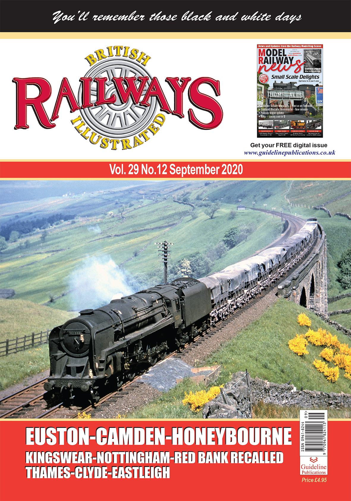 Guideline Publications British Railways Illustrated  12 MONTHS SUBSCRIPTION ~PLEASE note if you are renewing your subscription you have to register first as a new customer~