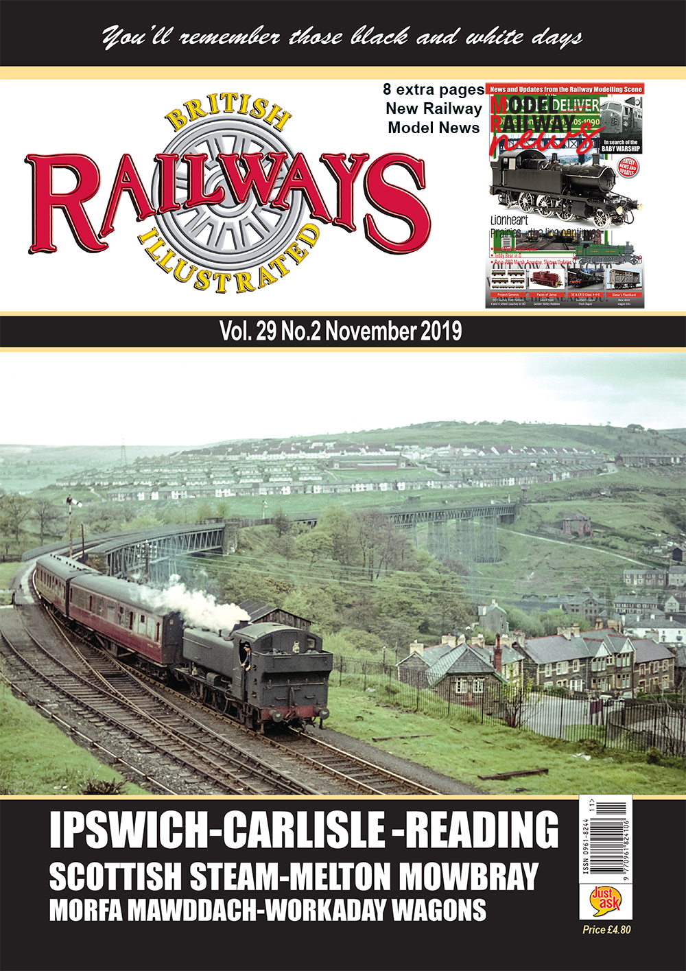 Guideline Publications British Railways Illustrated  vol 29 - 2 November  2019