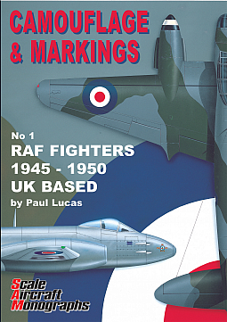 Guideline Publications Camouflage & Markings no 1 RAF Fighters 1945 - 1950 UK based