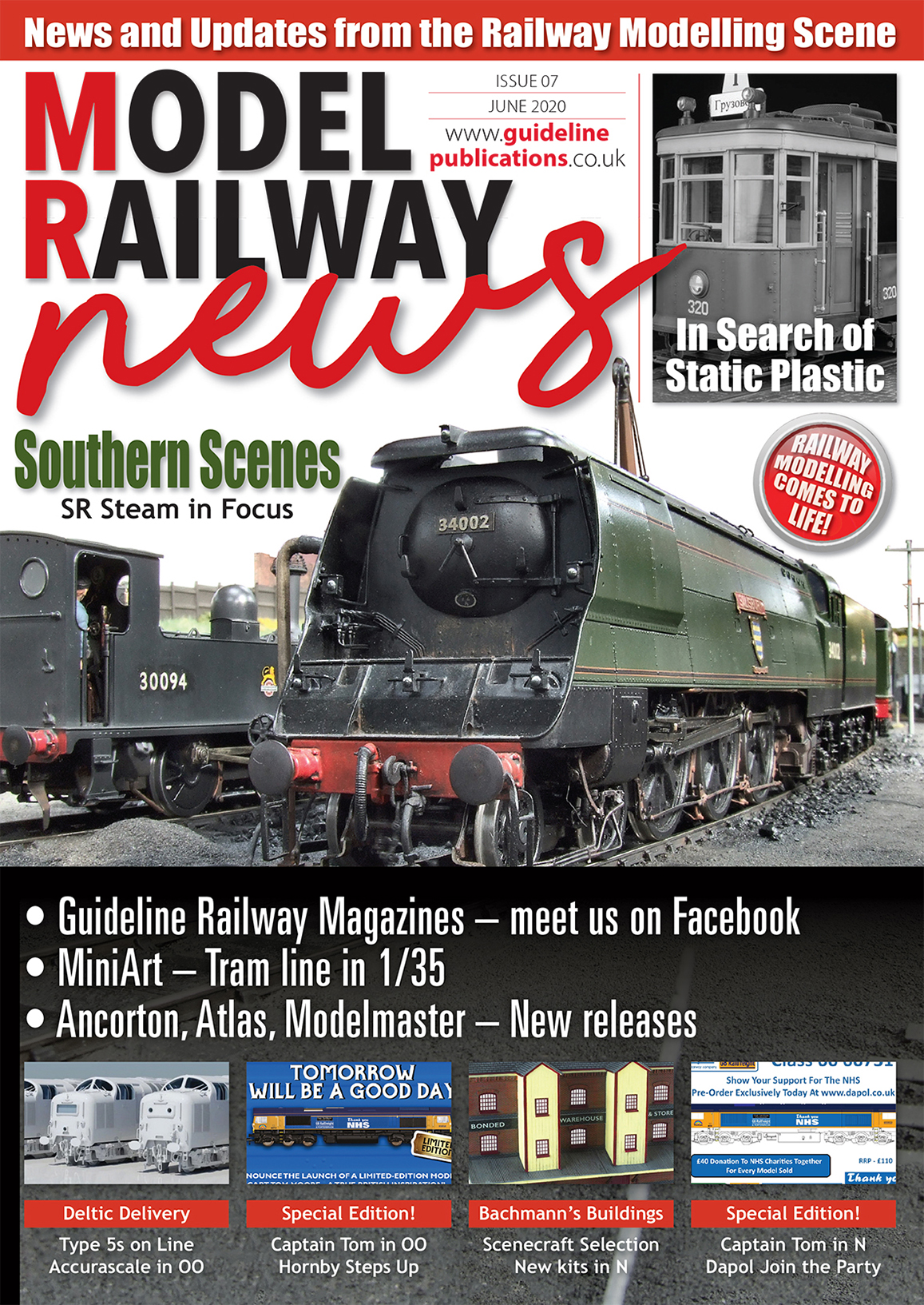 Guideline Publications Model Railway News issue 9 FREE DIGITAL ISSUE