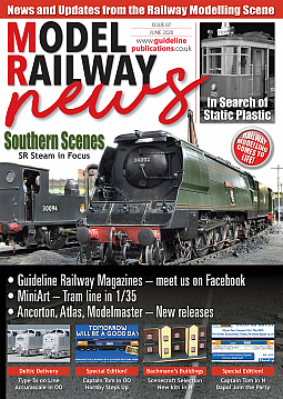 Guideline Publications Model Railway News issue 7 FREE digital issue Model Railway News Issue 7  June 2020
