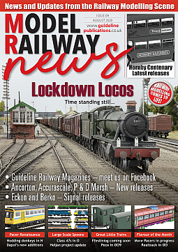 Guideline Publications Model Railway News August 20 issue 9 August 2020