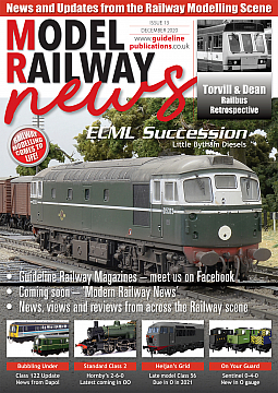 Guideline Publications Model Railway News December Issue 13 December 20