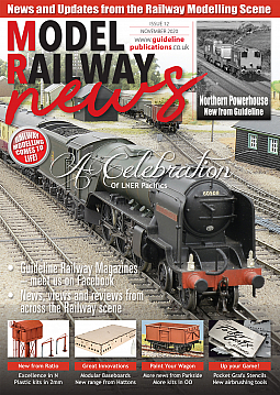 Guideline Publications Model Railway News November Issue 12 Oct2020