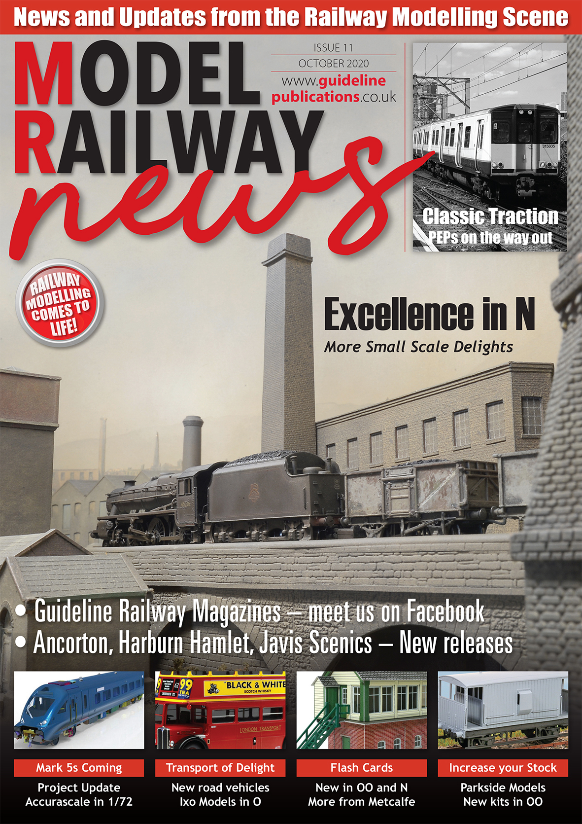 Guideline Publications Model Railway News October Issue 11 Oct2020
