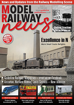 Guideline Publications Model Railway News October Issue 11