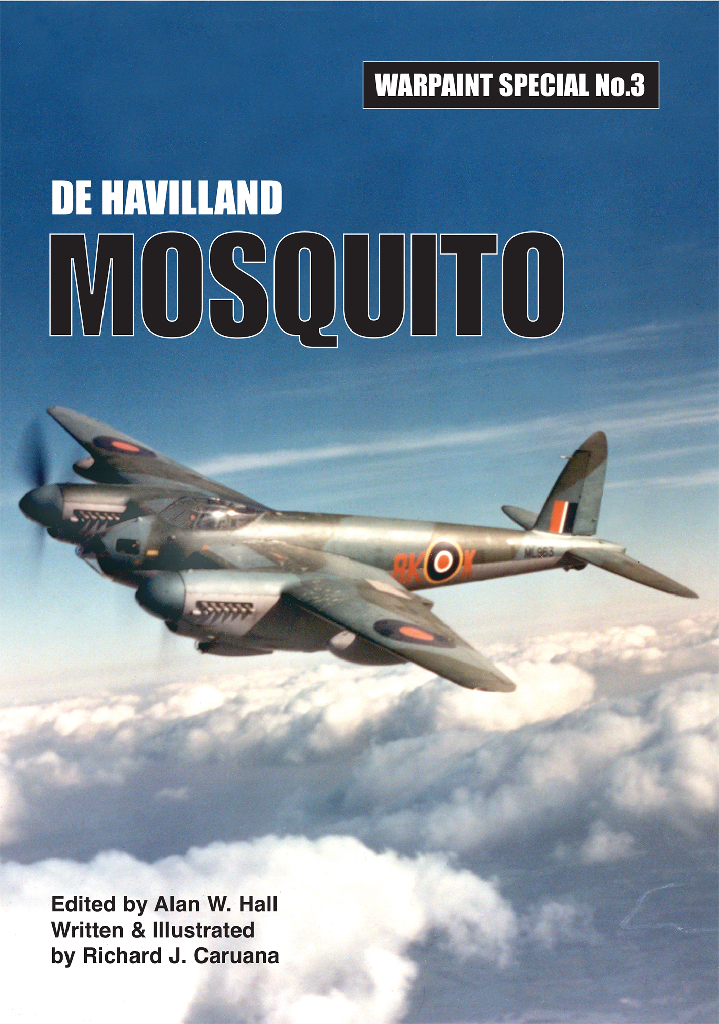Guideline Publications De Havilland MOSQUITO Warpaint Special no 3