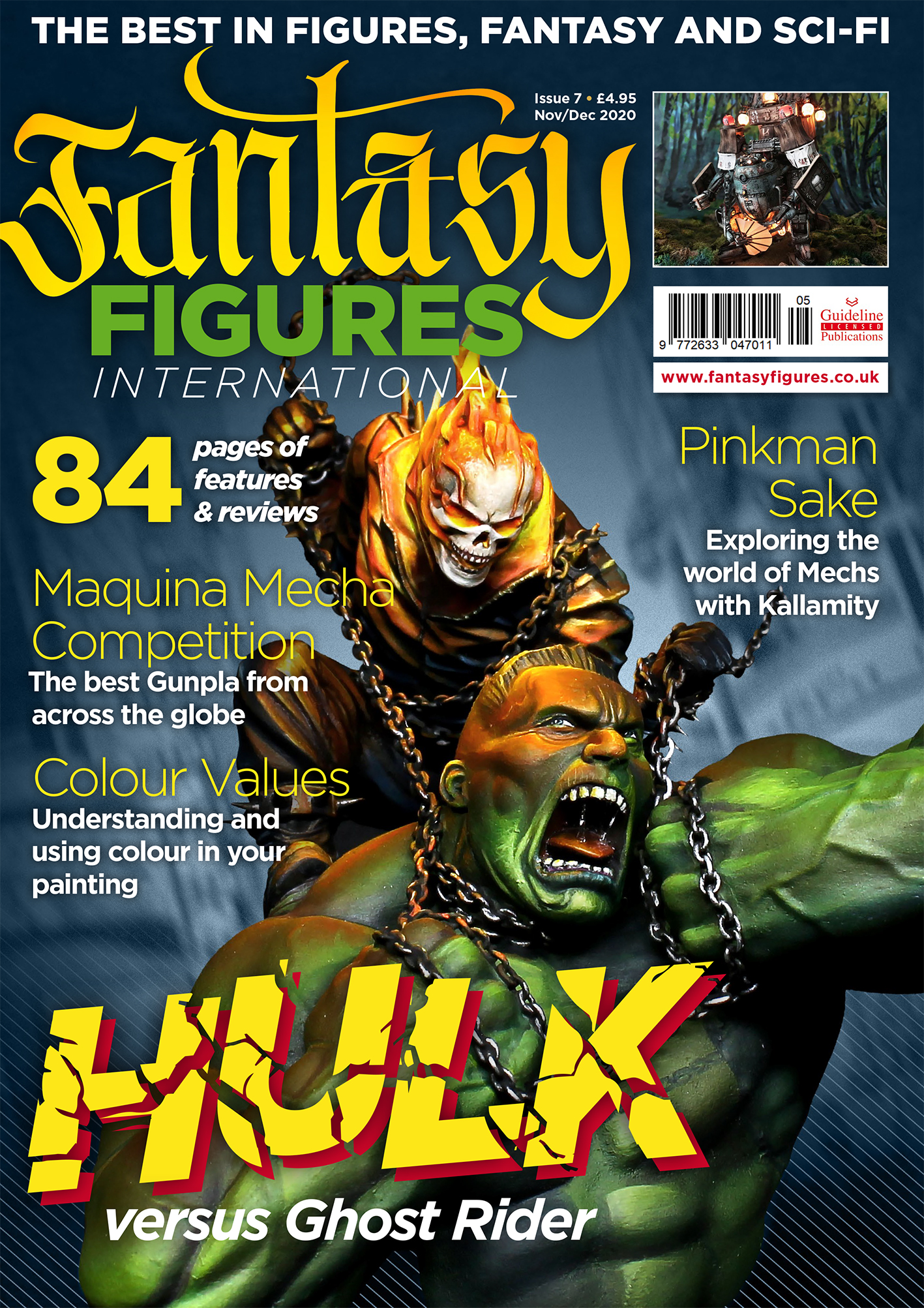Guideline Publications Fantasy Figure International  Issue 7 Nov/Dec 2020