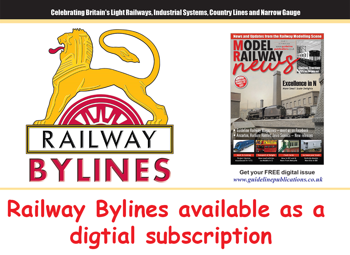 Guideline Publications Railway Bylines 12 MONTH  Digital Subscription 12 MONTH DIGITAL SUBSCRIPTION