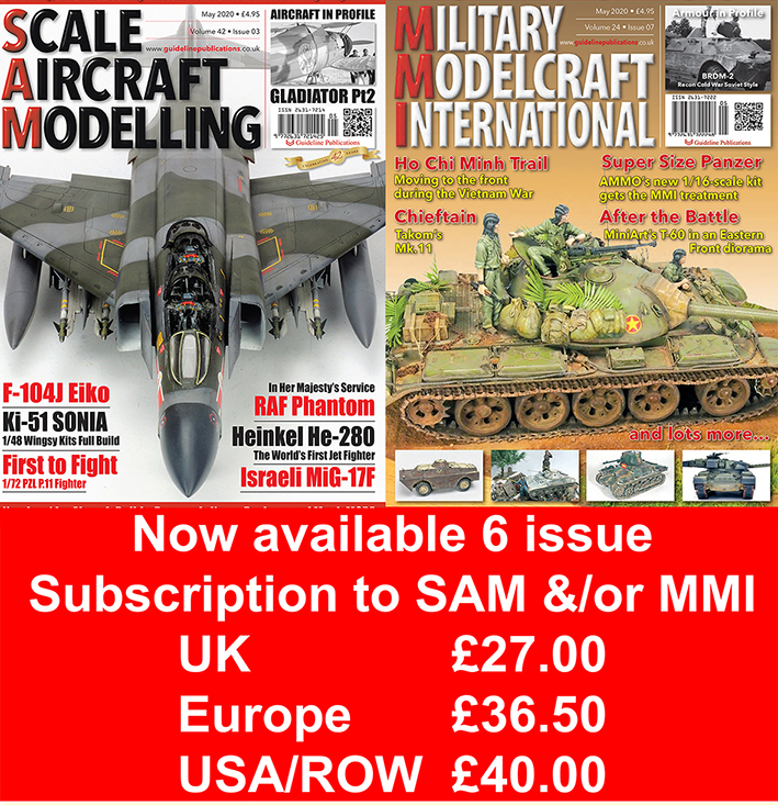 Guideline Publications Scale Aircraft Modelling - 6 Months 6-month Subscription