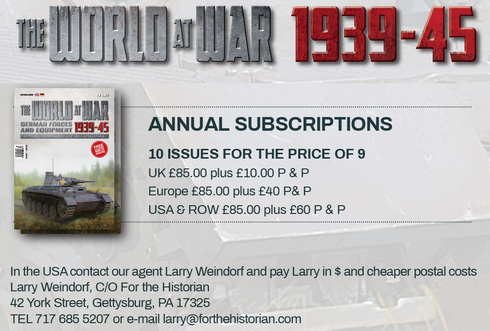 Guideline Publications The World at War subscription 10 issues for the price of 9