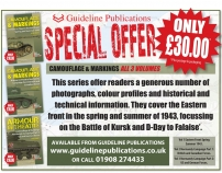 Guideline Publications Camouflage & Markings ALL 3 VOLUMES