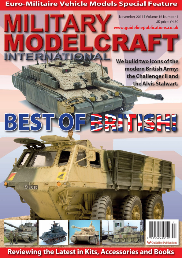 Guideline Publications Military Modelcraft November 2011 vol 16 - 1 OUT OF PRINT