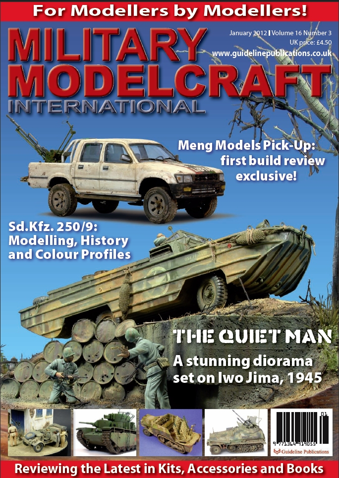 Guideline Publications Military Modelcraft January 2012 vol 16 - 3  OUT OF PRINT