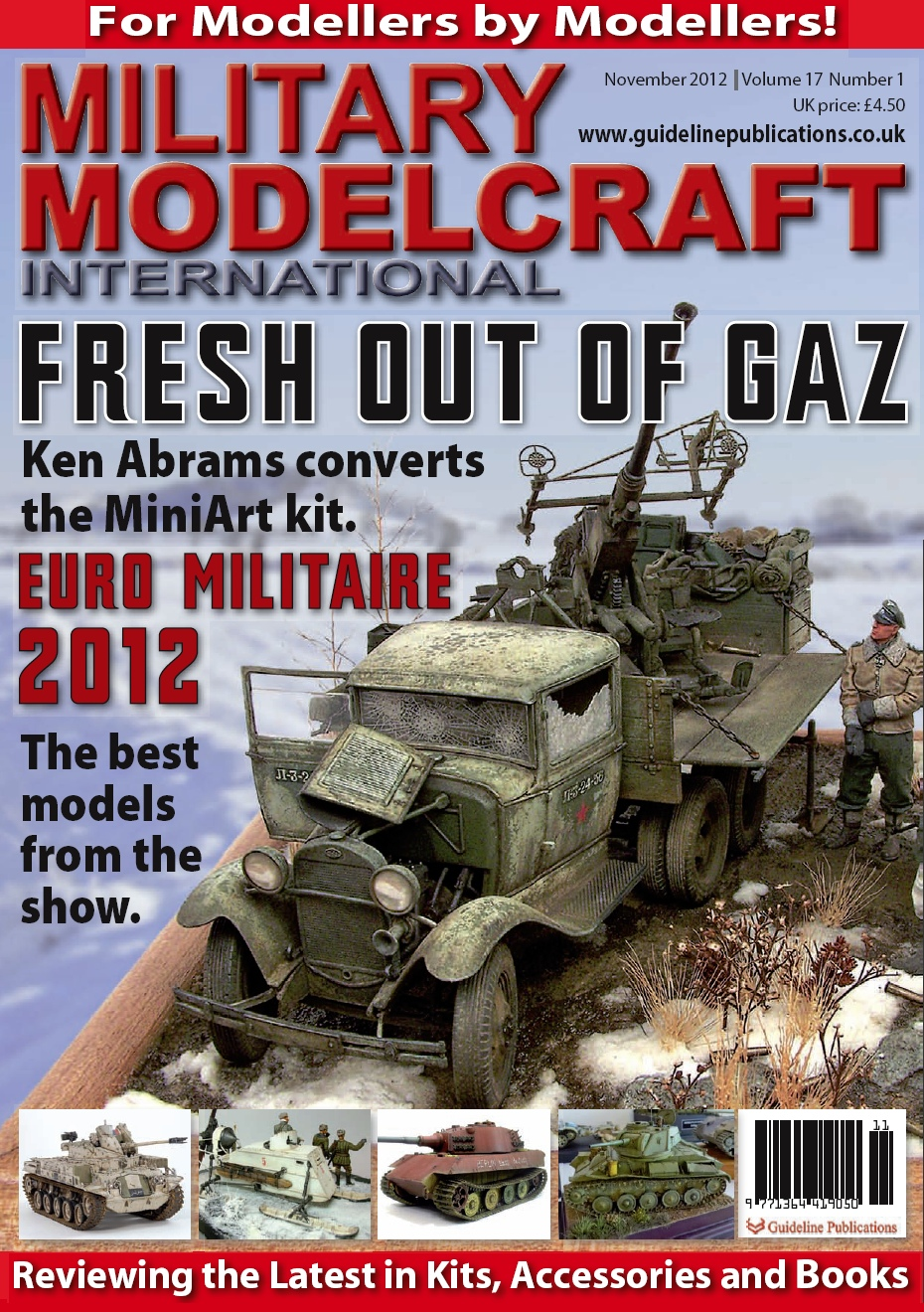 Guideline Publications Military Modelcraft November 2012 vol 17 - 1