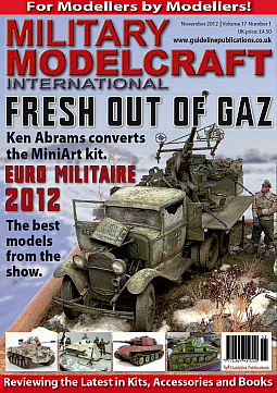 Guideline Publications Military Modelcraft November 2012