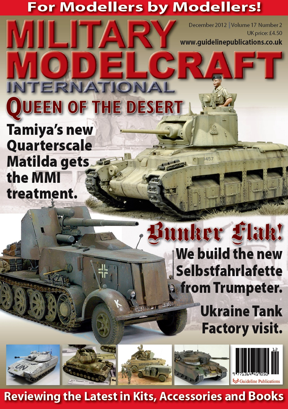Guideline Publications Military Modelcraft December 2012 vol 17 - 2