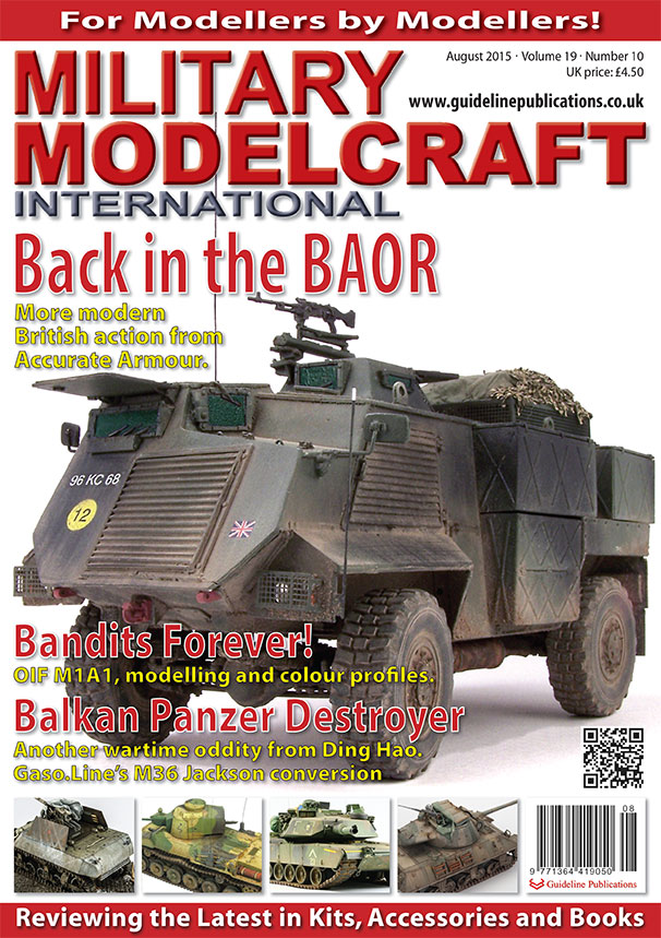 Guideline Publications Military Modelcraft August 2015 vol 19-10